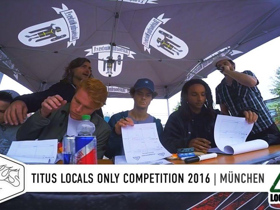 47358719aef7a6 Auch in München ging es wieder zünftig zur Sache im Rahmen der Titus Locals  Only Competition. Der lokale Skateboard Contest findet jedes Jahr in den  Städten ...