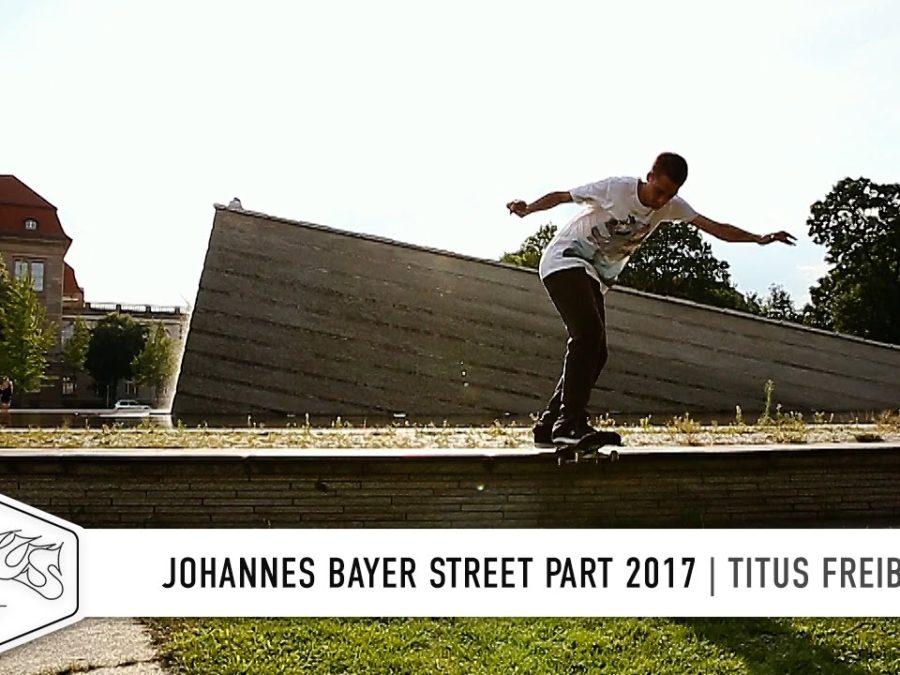 """a5dae102a7f8b Johannes Bayer vom Titus Freiburg sammelt weiter fleißig Footage. Mit  seinem """"Welcome Clip"""" von vor vier Jahren"""