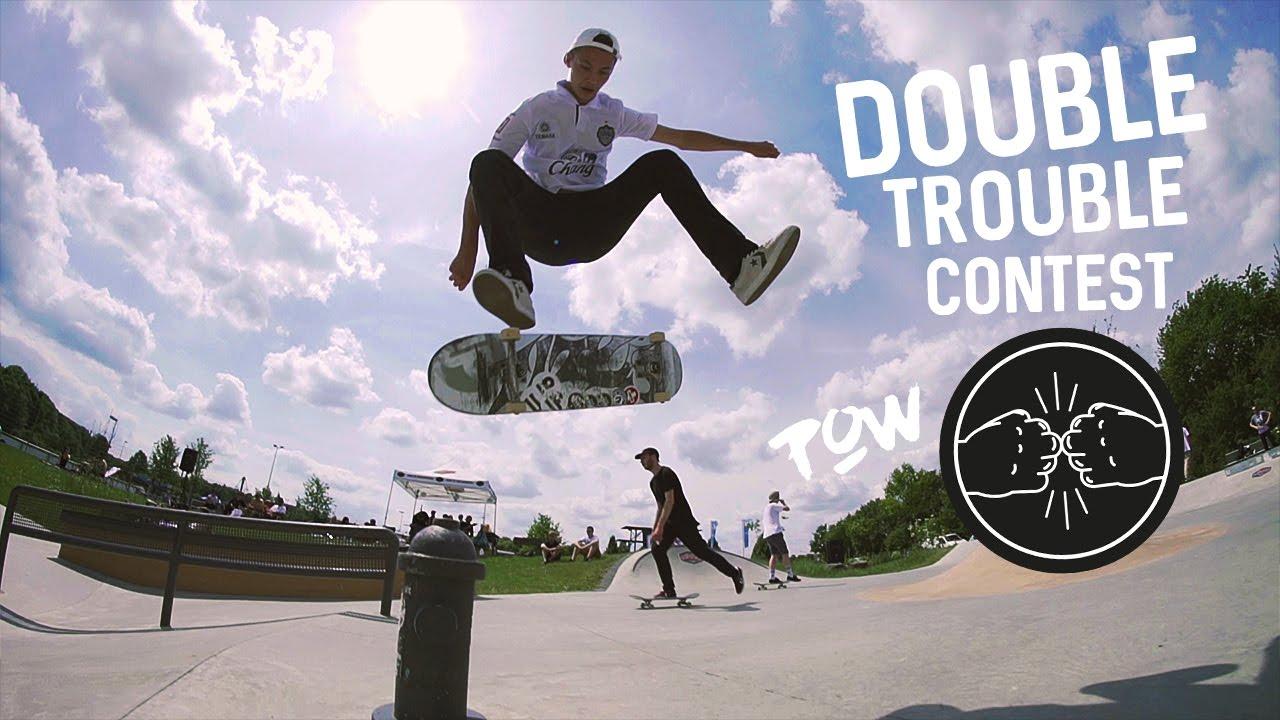 Double Trouble | Team-Contest im Skatepark Steinfurt 2017 | Titus Münster