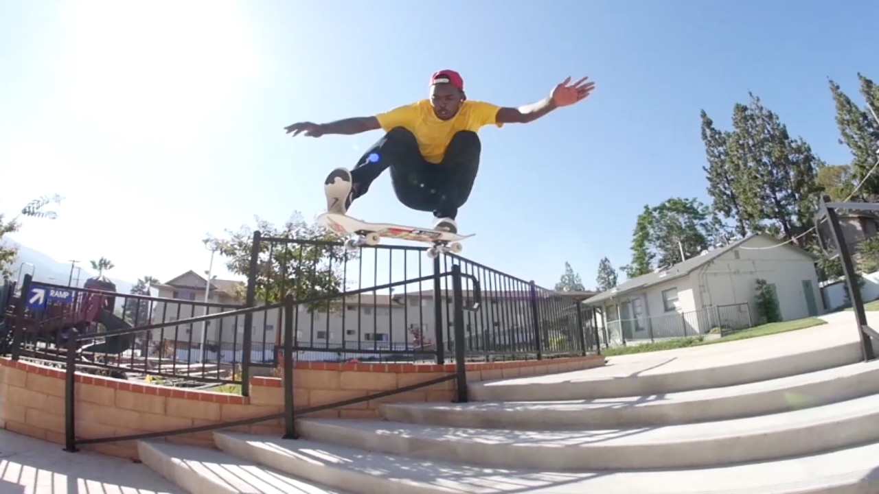Theotis Beasley Hip Hop Hijack Part | TransWorld SKATEboarding