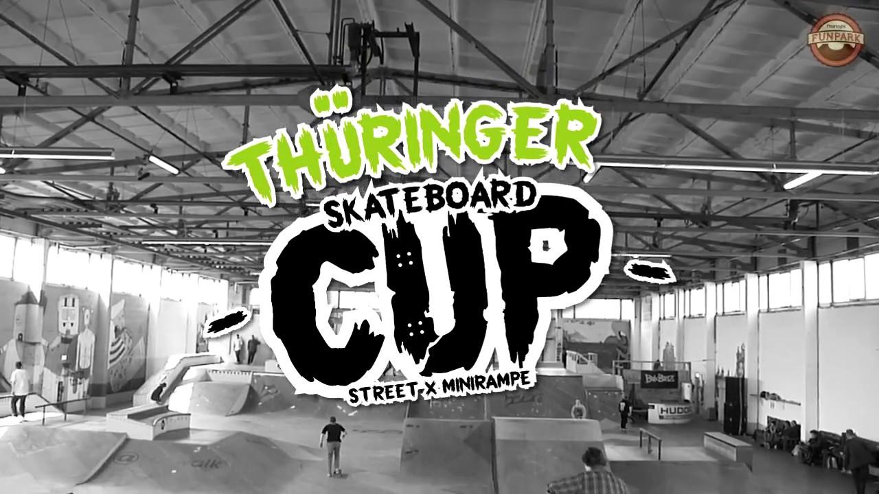 Thüringer Skateboard Cup 2017 I Funpark XXL Mühlhausen
