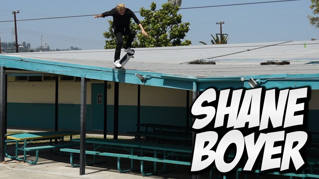 INSANE ROOF SKATER !!! SHANE BOYER - A DAY WITH NKA -