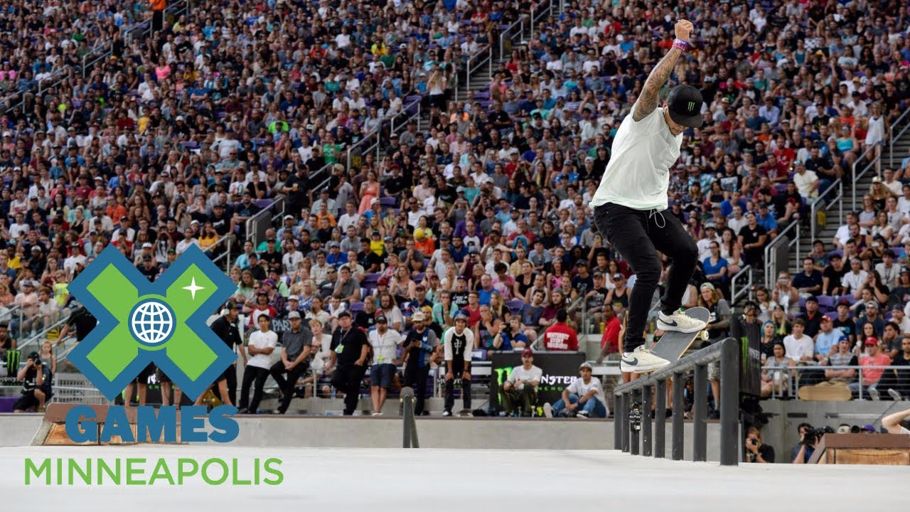 Nyjah Huston wins Men's Skateboard Street bronze | X Games Minneapolis 2017