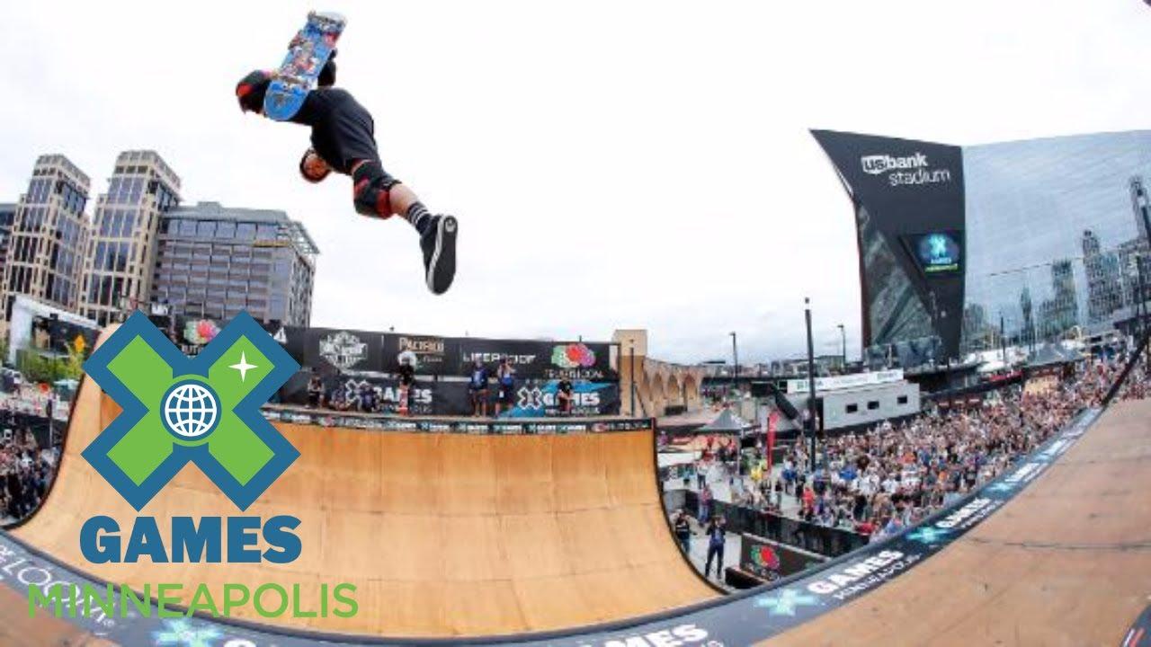Moto Shibata wins Skateboard Vert gold | X Games Minneapolis 2017