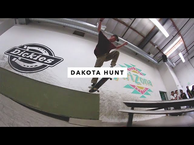 TWS Park: Dakota Hunt | TransWorld SKATEboarding