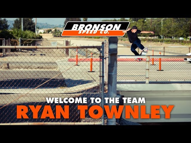 Ryan Townley: Welcome To The Next Generation | Bronson Speed Co.