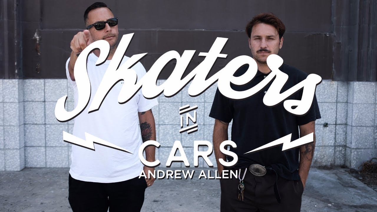 Skaters In Cars: Andrew Allen | X Games