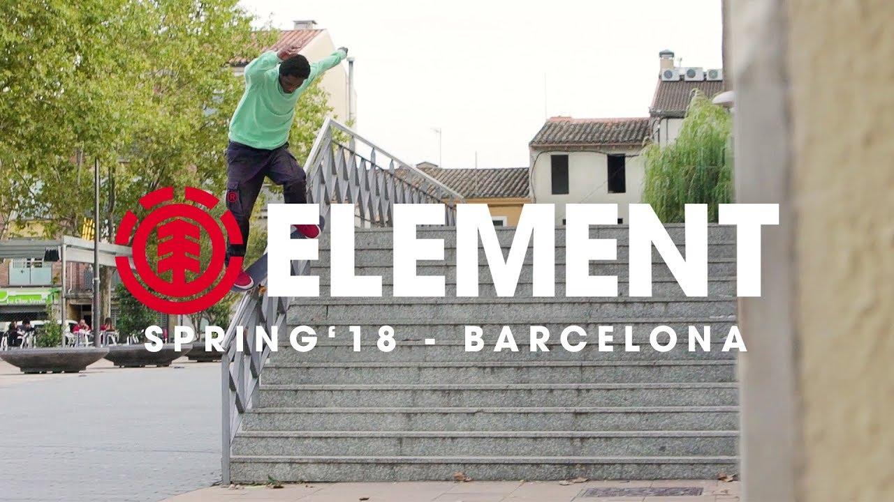 Element in Barcelona - Spring 2018