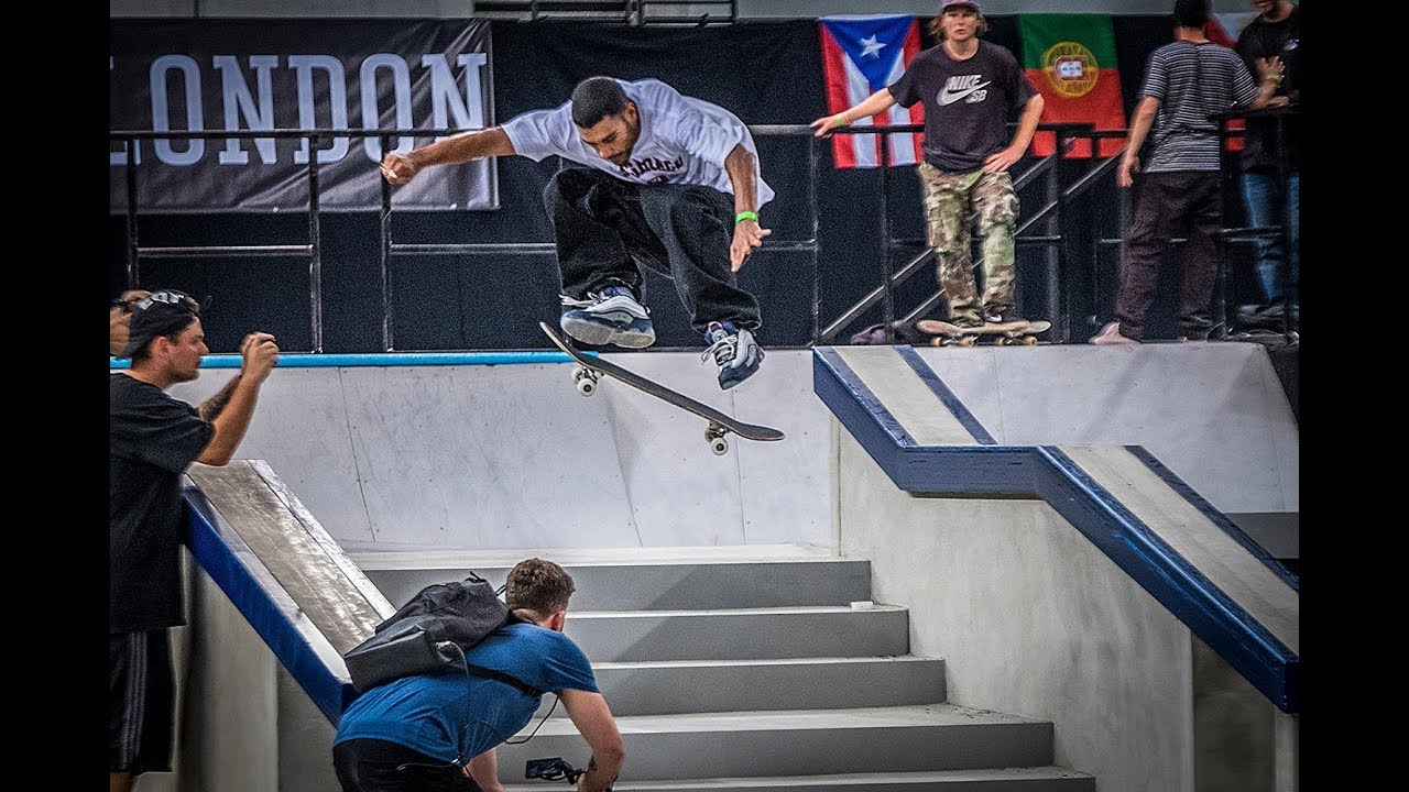 SLS Street League London Pro Open - Practice (Leticia Bufoni, Jamie Foy, Jagger Eaton)