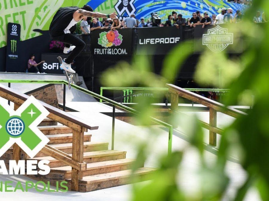 X Games Minneapolis Skateboard Big Air