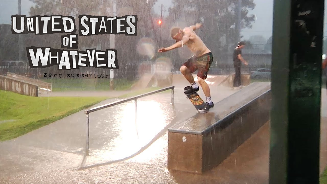 Zero Skateboards - United States of Whatever Tour | Episode 2 - RAIN DEMO!