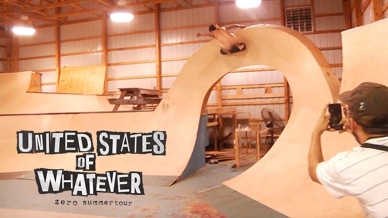 Zero Skateboards - United States of Whatever Tour | Episode 3 - BAM'S HOUSE!