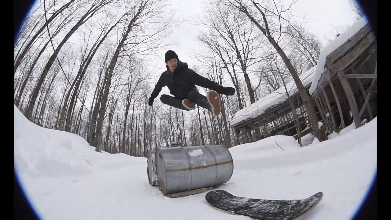 Phil Moreau's SUGARSHACK Snowskate Part