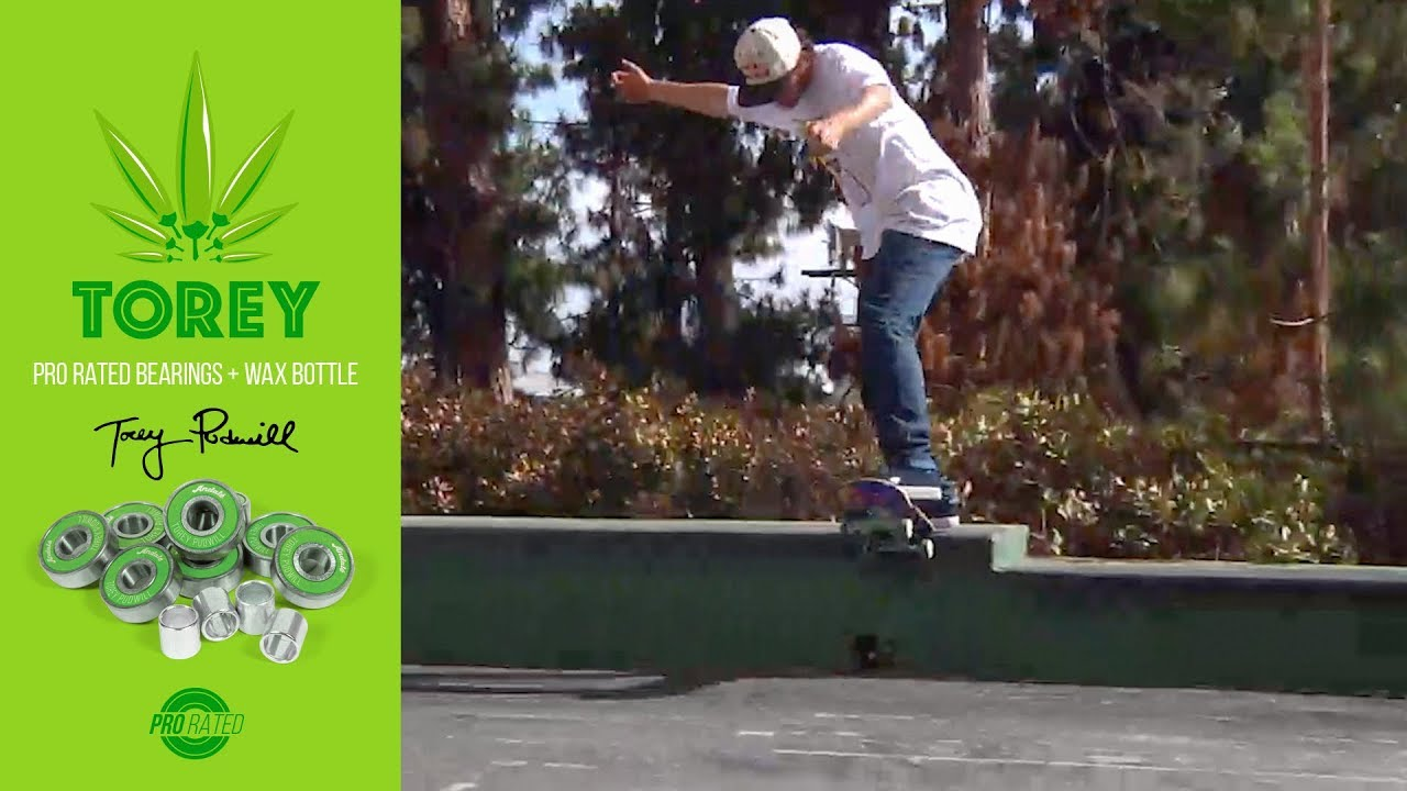 "Torey Pudwill Andalé Pro Rated Bearings ""fastest bearings alive"""