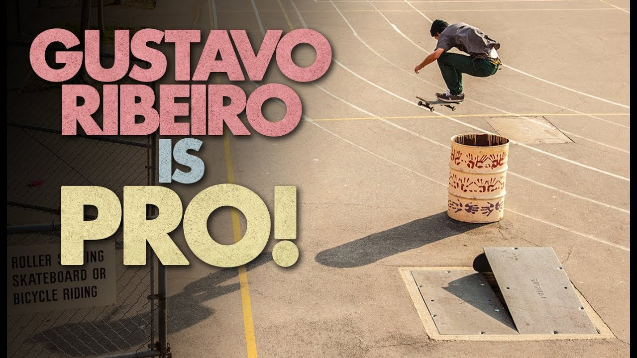 "Gustavo Ribeiro's Full-Length PRO Part | ""Nine To Five"""