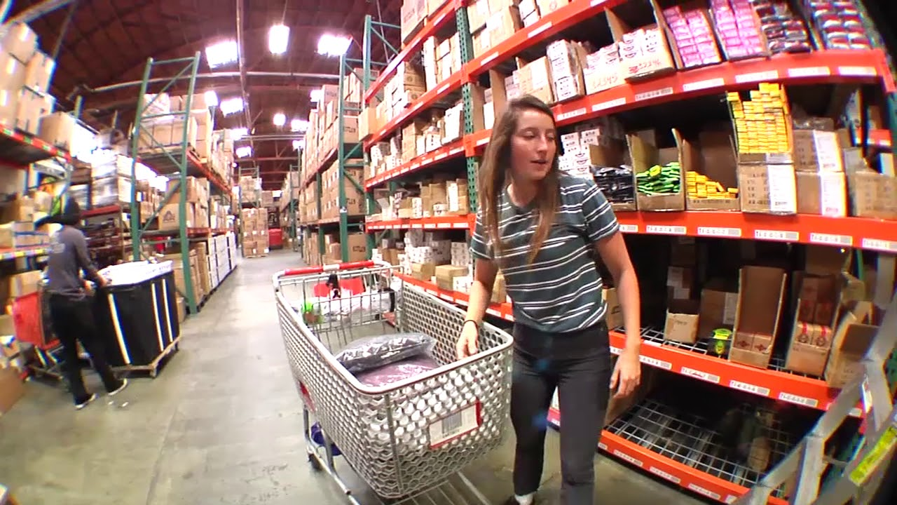 Nicole Hause raids the warehouse!