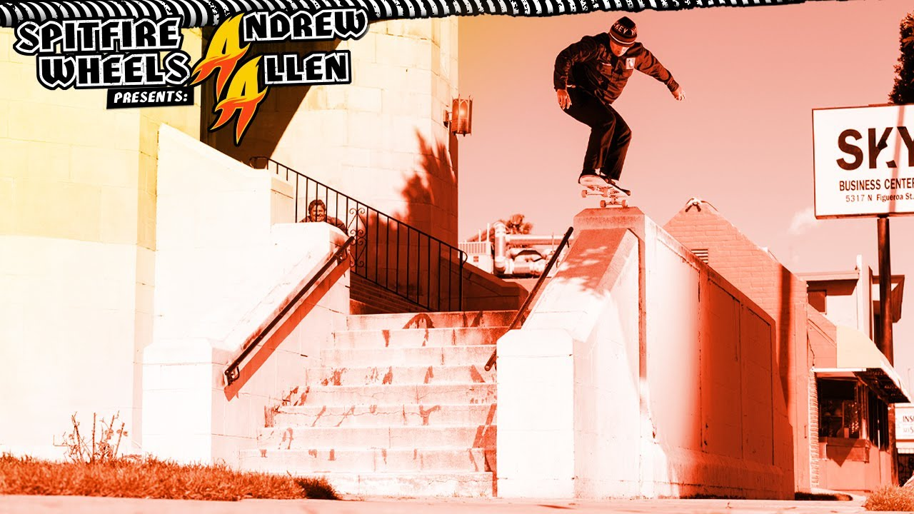 "Spitfire Presents ""DOUBLE A"" Featuring Andrew Allen."