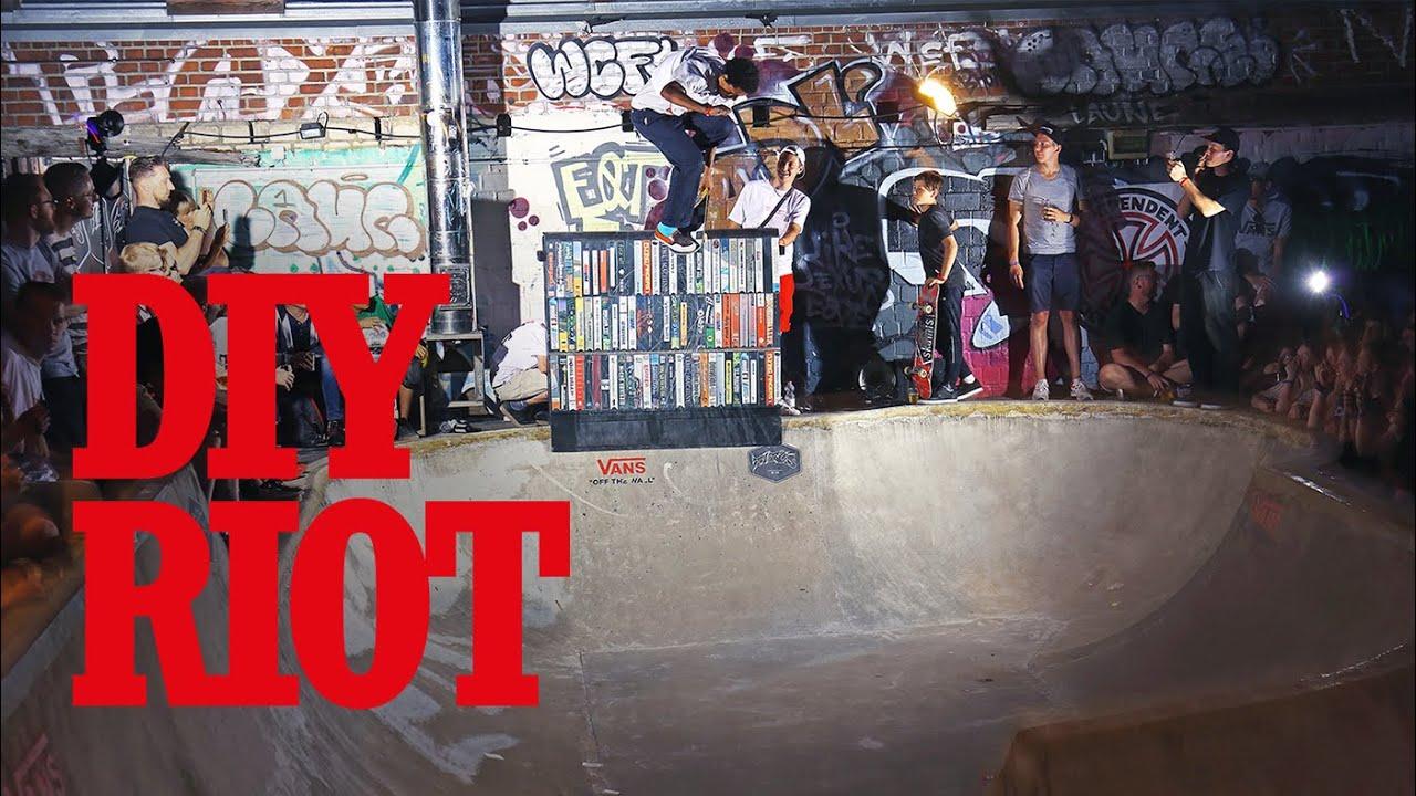 DIY Riot 2019 | Vans x Titus | Jan Hofmann, Deo Katunga, Alex Ullmann, Lucas Languasco