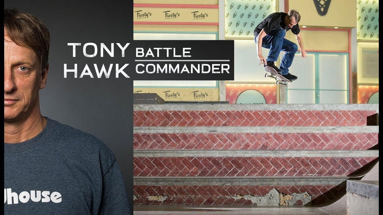 THE TONY HAWK BATTLE COMMANDER / Full Video Part At 51 Years Old