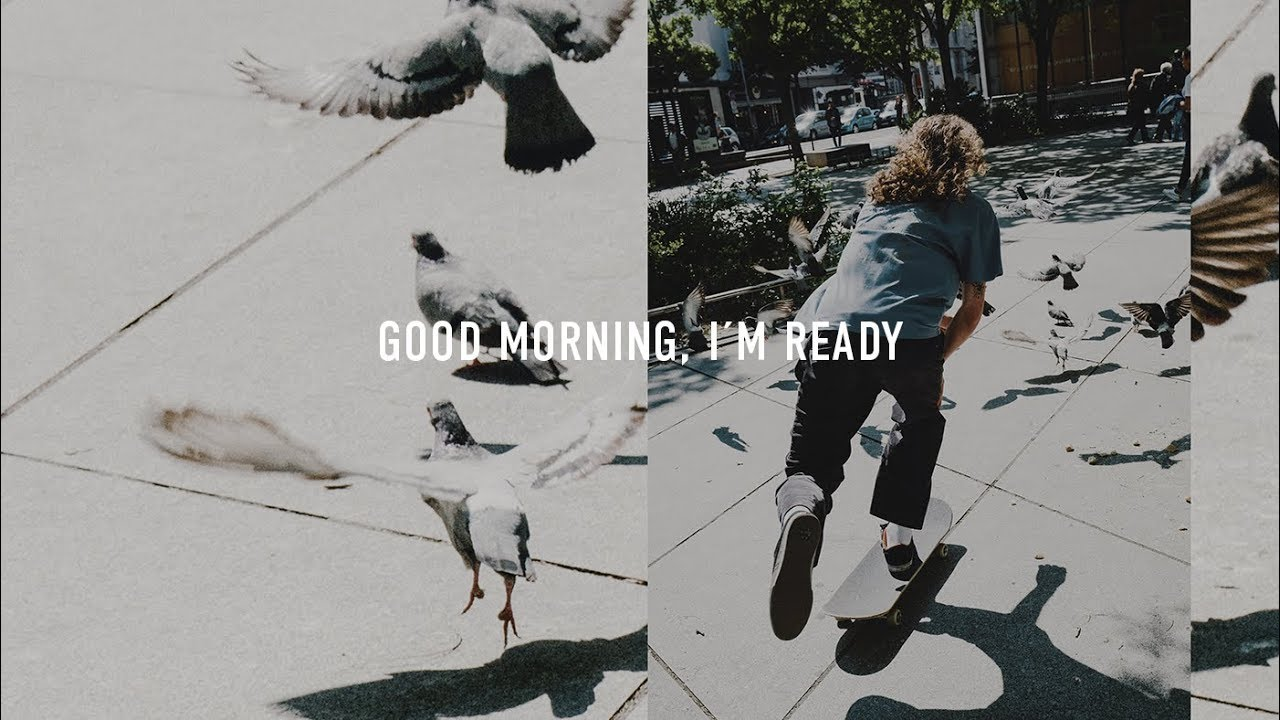 Titus Skateboards: GOOD MORNING, I'M READY