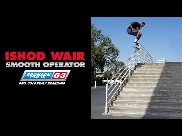 Ishod Wair: G3 Pro Colorway Bearings