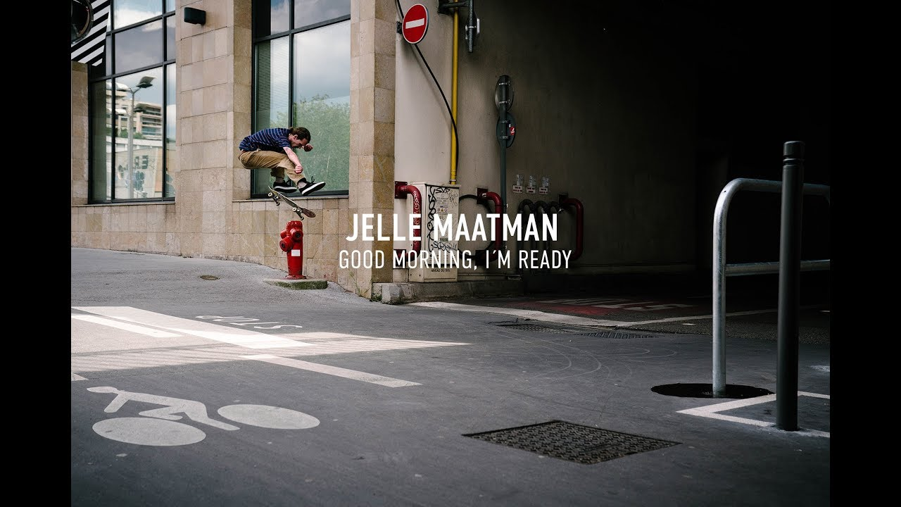 Jelle Maatman in Titus Skateboards: GOOD MORNING, I'M READY