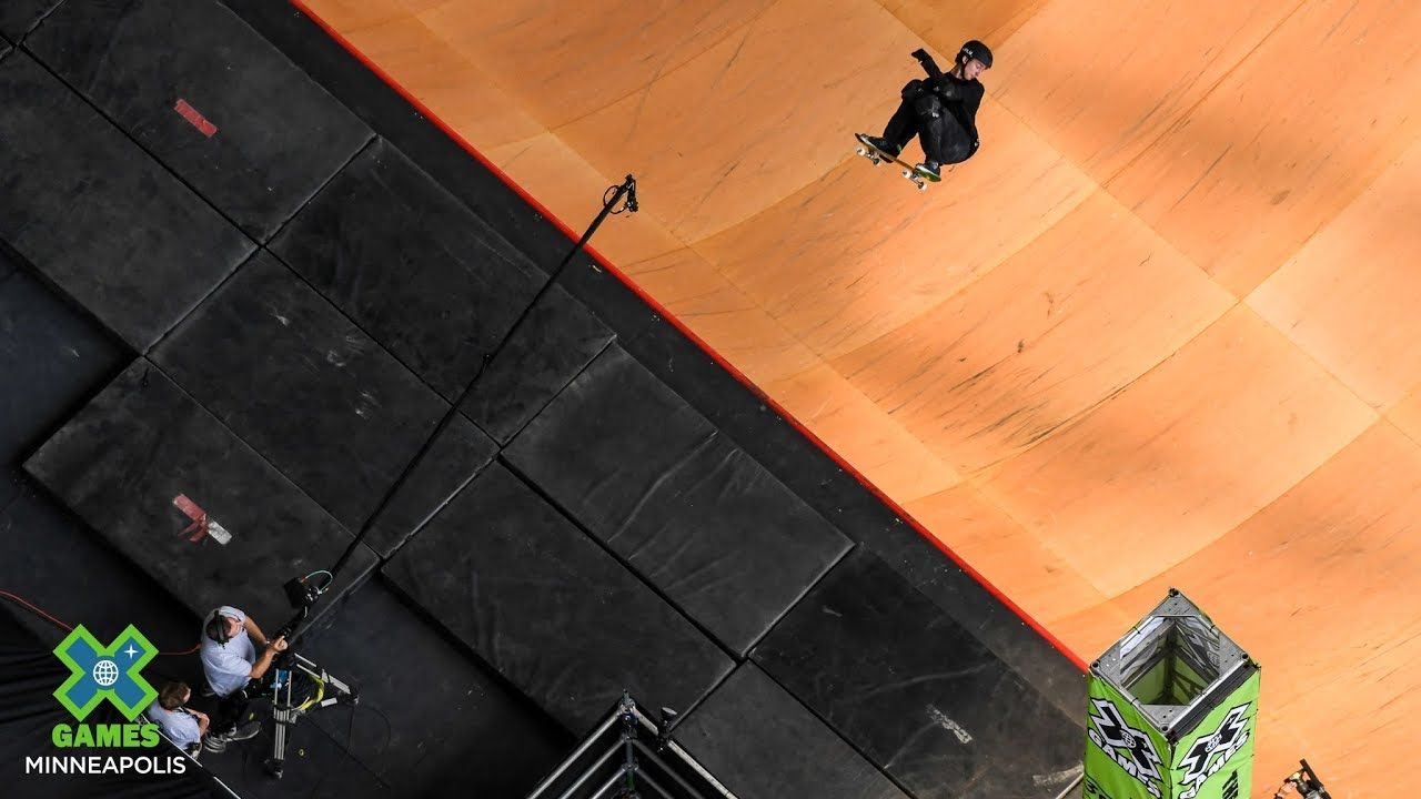 NBD: Mitchie Brusco's first-ever Big Air 1260 | X Games Minneapolis 2019