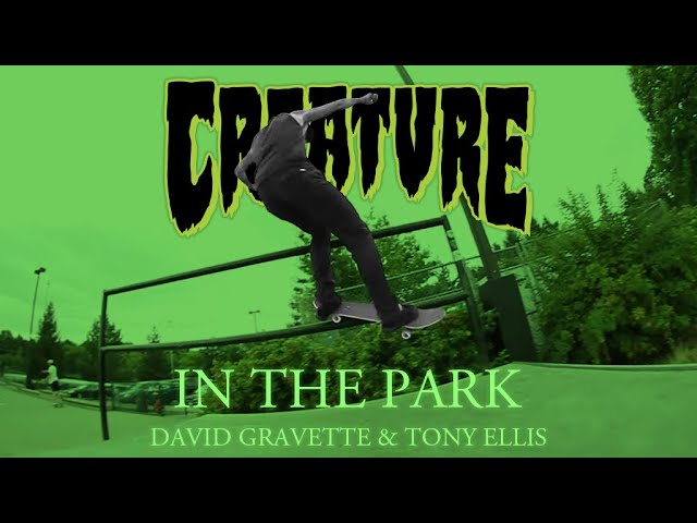 In The Park: David Gravette & Tony Ellis Skate DemoLITION @ THPRD Skatepark