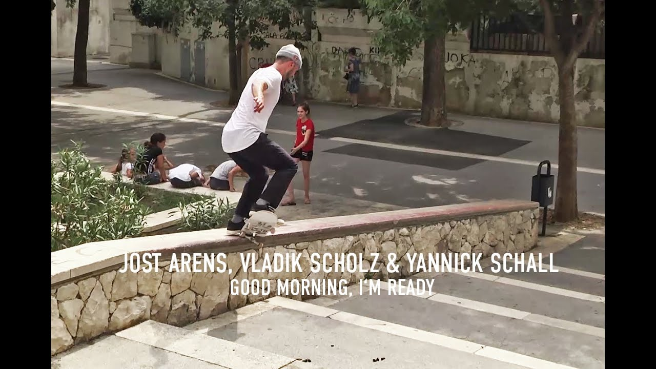 Jost Arens, Vladik Scholz & Yannick Schall Part in Titus Skateboards: GOOD MORNING, I'M READY