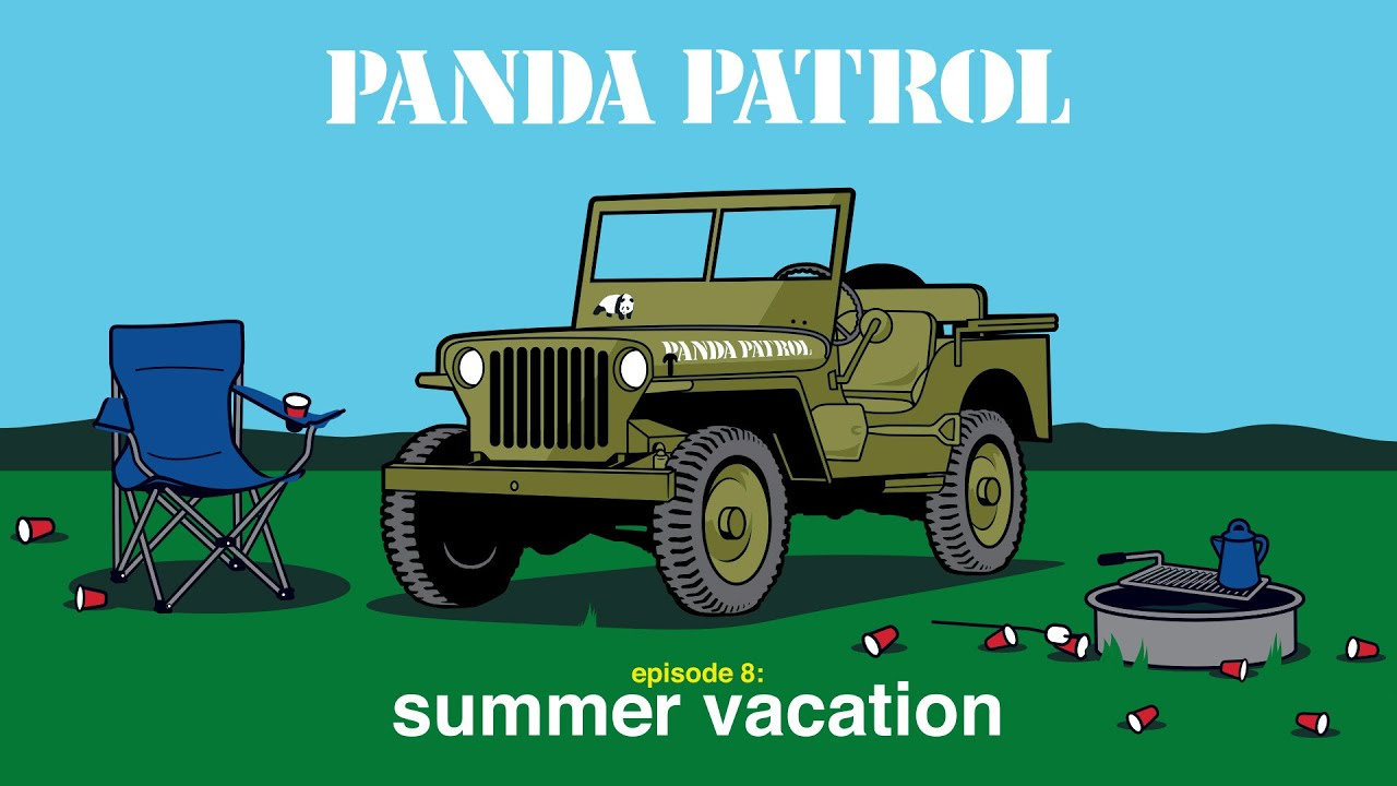 PANDA PATROL:  Episode 8. Summer Camp