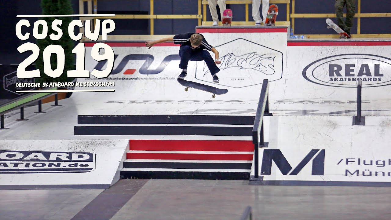 COS Cup 2019 Finale | Europapark Rust | Deutsche Skateboard Meisterschaft