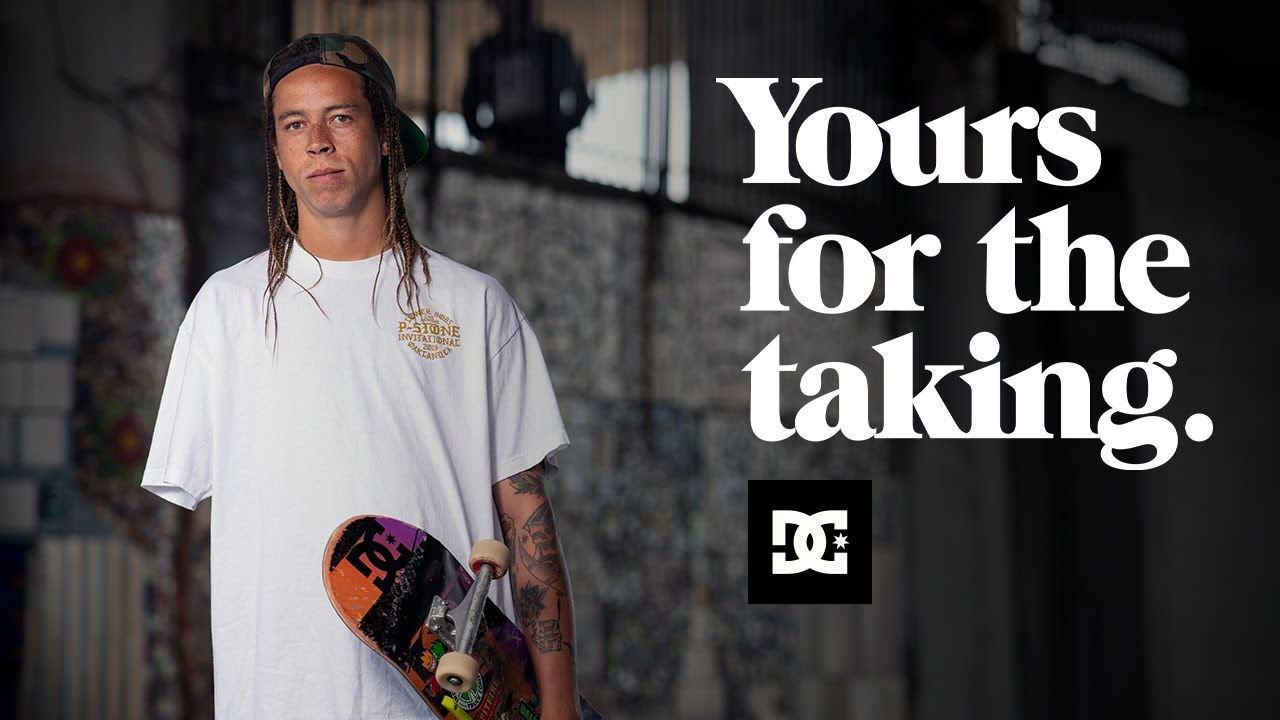 DC SHOES : LEFTY - YOURS FOR THE TAKING