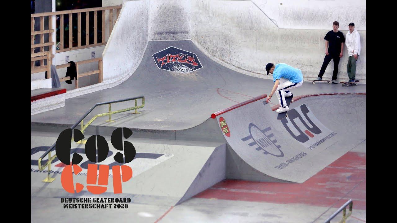 COS Cup 2020 | Skatehalle Aurich | Deutsche Skateboard Meisterschaft