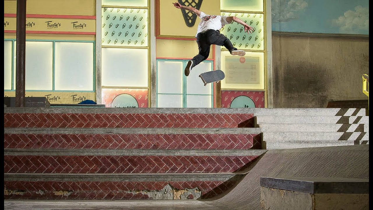 Is This The Gnarliest Trick Ever Done At The Berrics?!