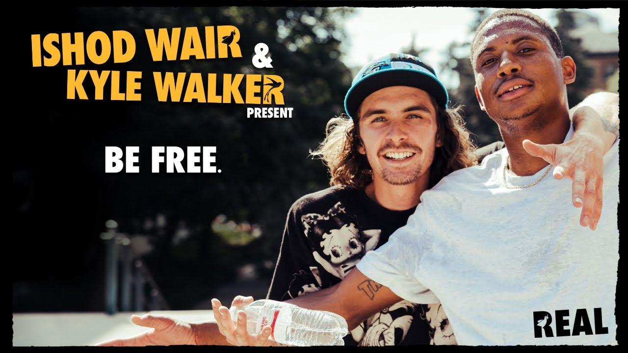 """Ishod Wair & Kyle Walker's """"BE FREE"""" video"""