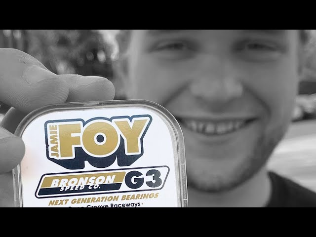 Jamie Foy | G3 Pro Bearings
