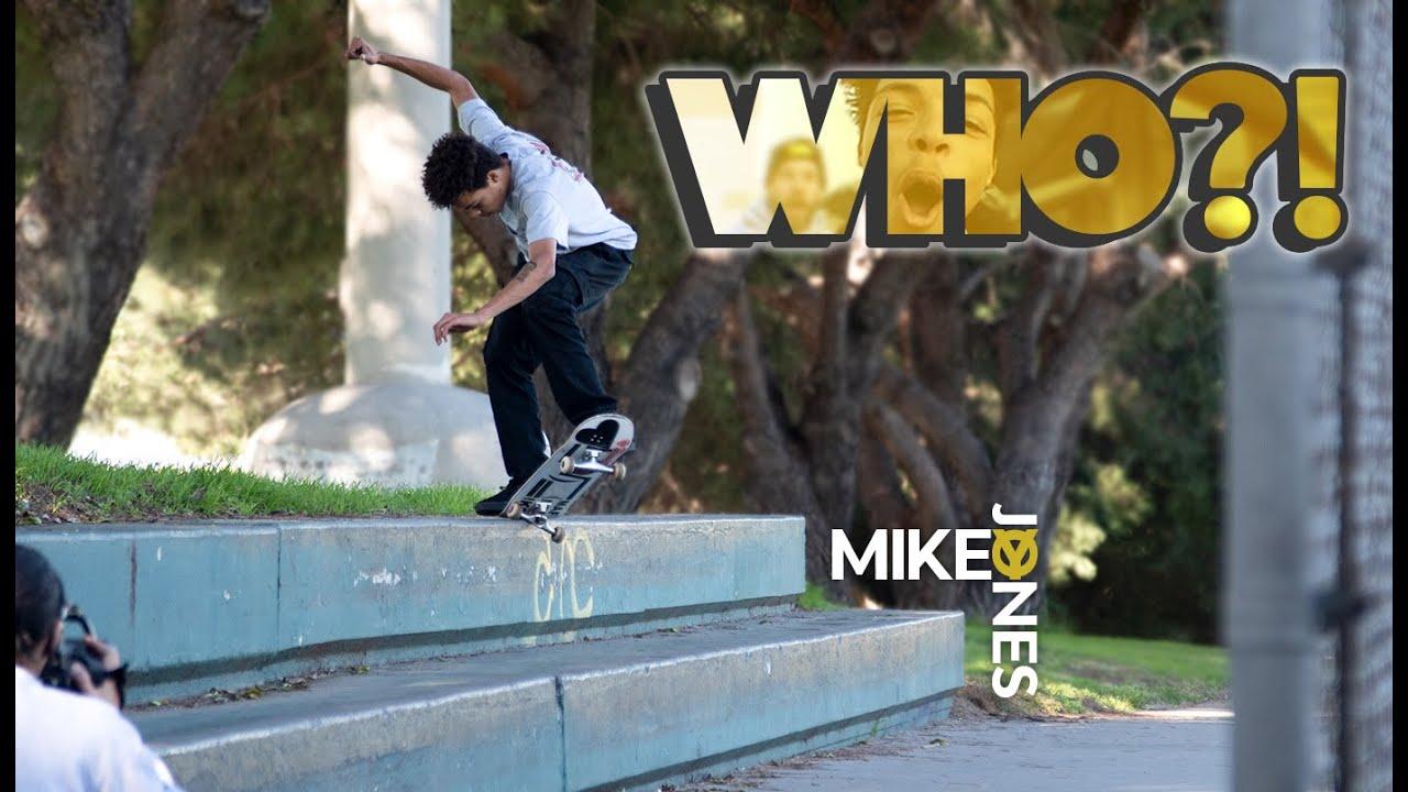 WHO? Mikey Jones!
