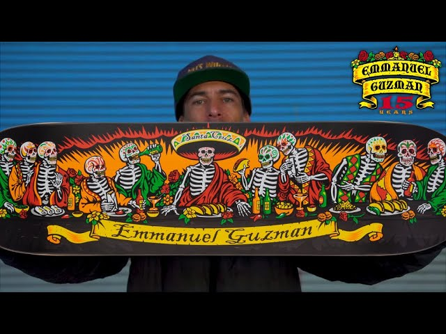 Emmanuel Guzman | 15 Years Pro for Santa Cruz Skateboards