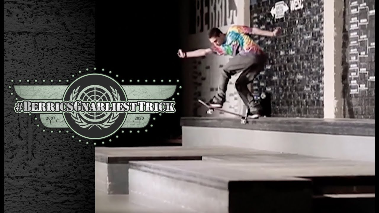 Torey Pudwill's Legendary Backside Tailslide | Berrics Gnarliest Trick