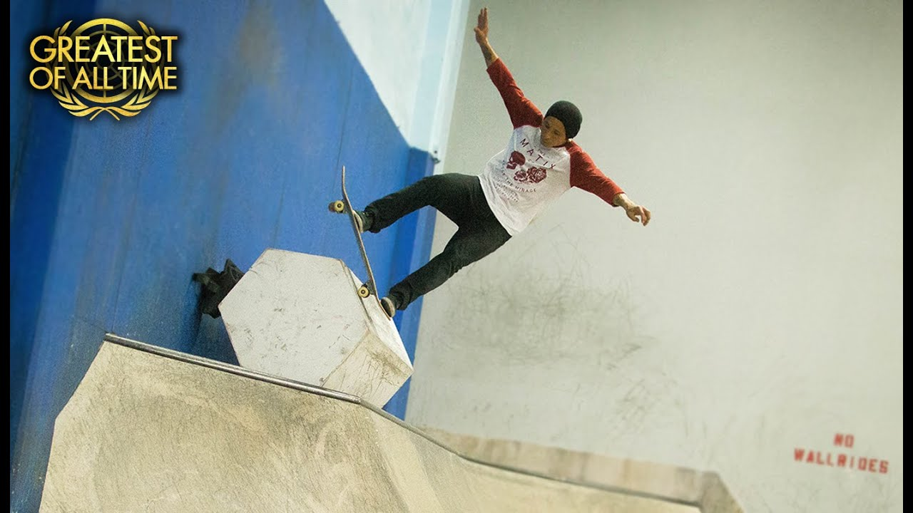 Daewon Song's Greatest Manuals At The Berrics