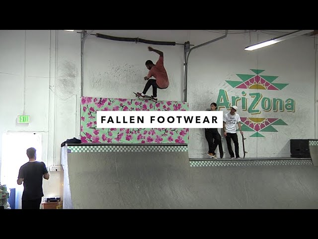 Fallen Footwear Team In The TWS Park