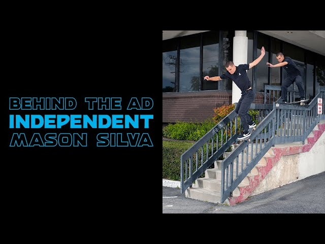 Mason Silva Boardslide Drop Down 50-50 | Behind The Ad