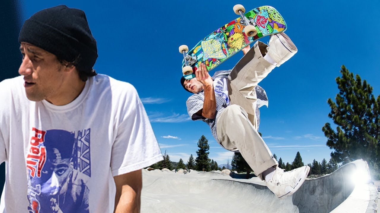 5 Minutes of PURE Erick Winkowski: Camping With The Homies! | Santa Cruz Skateboards