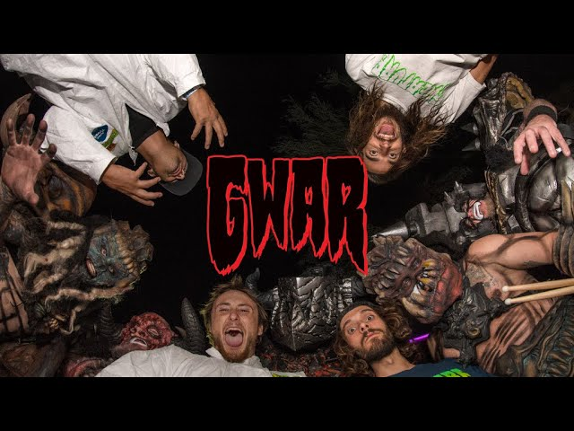 Creature Proudly Presents the Official GWAR collab!