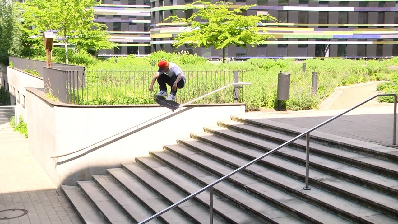 Justin Sommer's 'SH!T DON'T STOP' OJ Wheels part