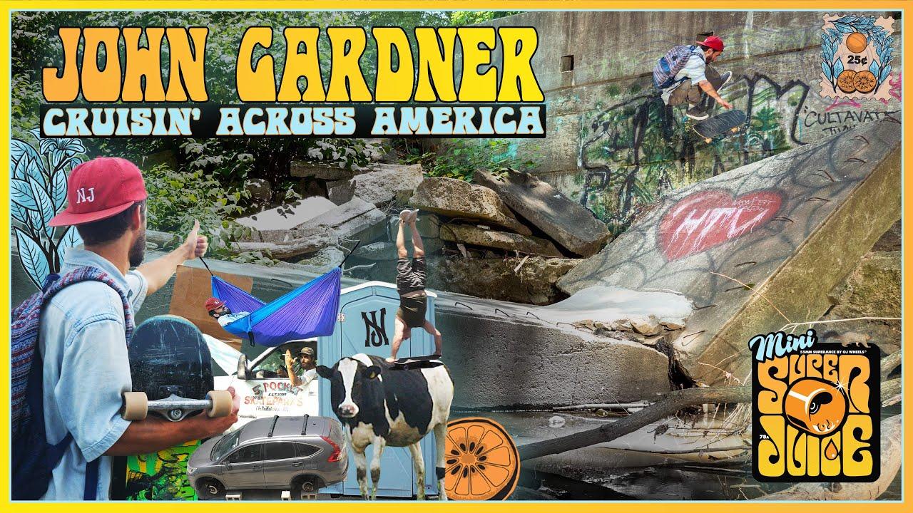 John Gardner's 'Cruisin' Across America' | OJ Wheels