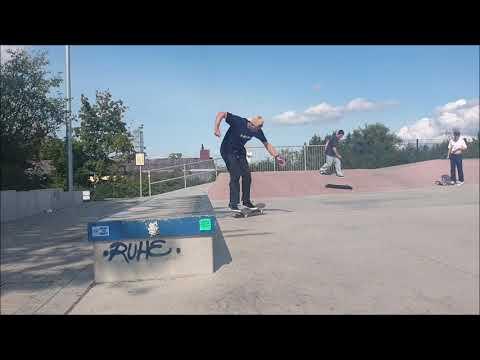 Tobias Rüppel Skatepark Bayreuth and Pegnitz
