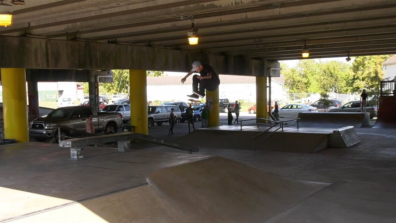 Ryan Sheckler - Sandlot Times - Parisite Skatepark Drop-In - Episode Six