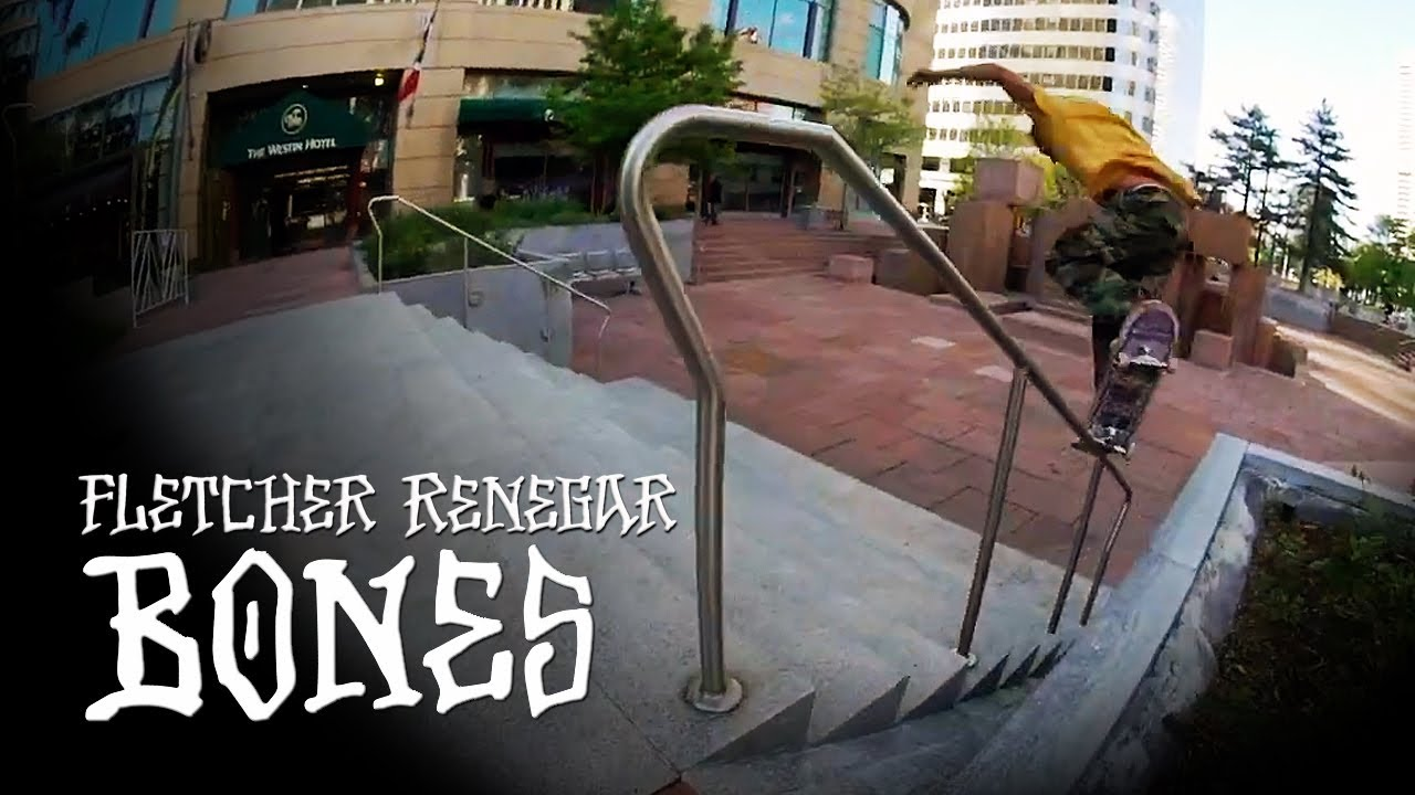 BONES WHEELS - FLETCHER RENEGAR
