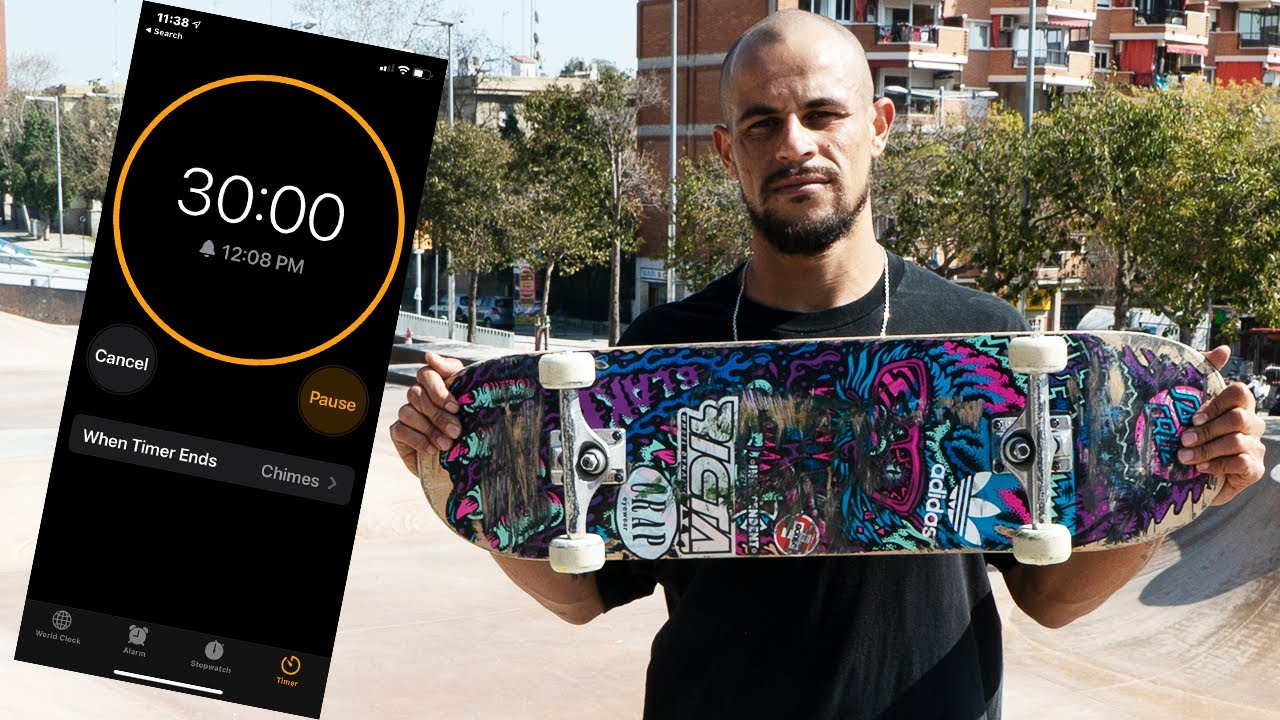 30 MINUTES WITH BLAKE JOHNSON IN BARCELONA | Santa Cruz Skateboards